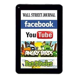 Kosatec TAB7 Unimex Surf-Pad 17,7 cm (7'') Tablette Tactile (AMD processeur, 1GHz, 8Go HDD, Android, Ecran tactile) Noir/Blanc