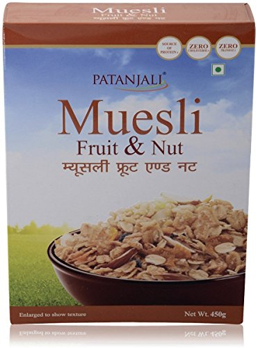 Patanjali Fruit And Nut Muesli, 450g