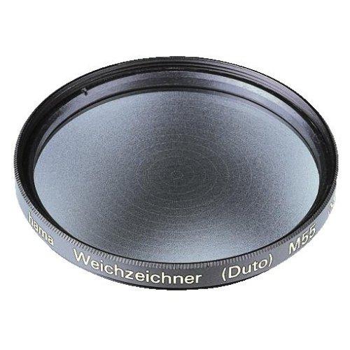 Hama Effekt-Filter, Weichzeichner, 2-fach Vergütung, Für 55 mm Foto-Kameraobjektive