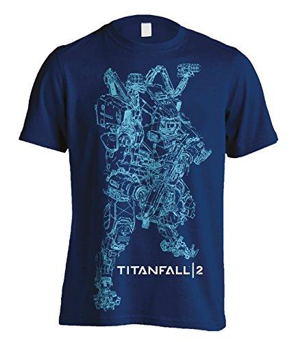 Titanfall 2Titan BT Line Art TS Schwarz M