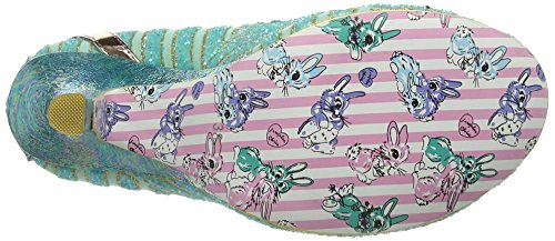 Irregular Choice - Bubbles, Scarpe col tacco Donna Verde (Mint)