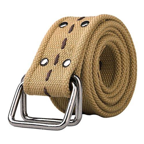 MUST WAY Doit Lier Herren Cargo Hose Kampfhose Arbeitshose Workwear Hose mit 8 Taschen Gr. 115 cm, Belt Khaki - Stretch-wochenende