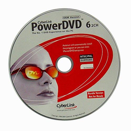 Preisvergleich Produktbild Cyberlink Power DVD 6.0 OEM
