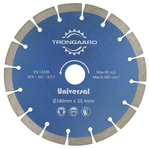 Trong Aard diamante 180mm/25.4mm–Universal