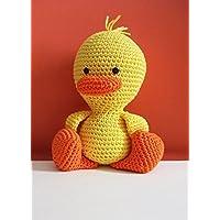 Gastone junior _ papero amigurumi all'uncinetto. Regalo per bambini e neonati. Pupazzo da collezione handmade