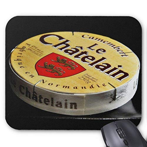 Camembert Cheese Box Mouse Pad 18×22 cm -