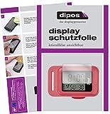 dipos I 6X Schutzfolie klar kompatibel mit CRIVIT Schrittzähler Folie Displayschutzfolie