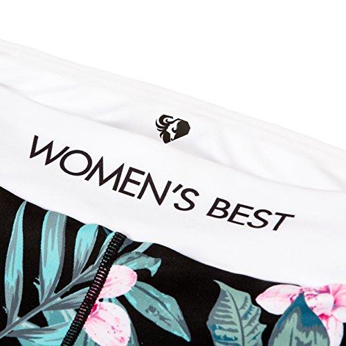 Sport-Leggings für Damen in tollem Design | Leggins, Sport-Hose, Trainings-Hose für Frauen mit elastischem Bund | Sportbekleidung in bequemen Schnitt für eine tolle Figur | WOMEN'S BEST Paradise
