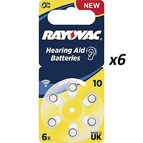 60-x-tipo-10-giallo-rayovac-extra-advanced-10-14-v-105-mah-pile-per-apparecchi-acustici-confezione-d