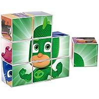 PJmask Rompecabezas 9 Cubos,, 22 x 22 cm (CEFA Toys 88247)