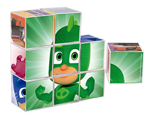PJmask- Rompecabezas 9 Cubos