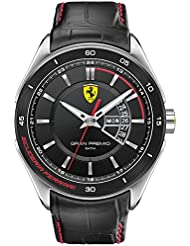 Scuderia Ferrari Gran Premio Mens Day & Date Watch 0830183