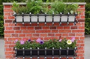 Agralan MWBW jardinière murale avec bac blanc