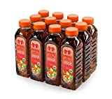 Black ice Tea and Peach Taste Beverage (Still) (The Pack of 12 x 500ml)