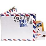 Mighty Wallet® - The Original Tyvek Wallet® - Airmail / Par Avion border design