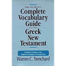 Students' Vocabulary Guide to the Greek New Testament