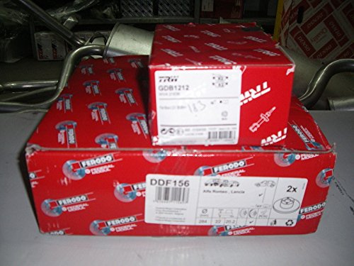 Disques de frein + plaquettes de frein arrière cIFAM ddf1226 - 800 - 688 - fDB1931 - 8223371