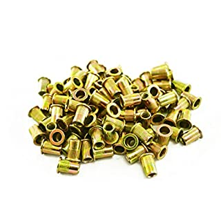 Astro Pneumatic Tool RN6M M6 6mm Steel Rivet Nuts (100 Piece)