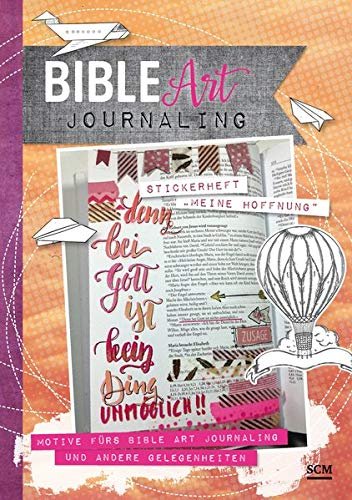 """Stickerheft """"Meine Hoffnung"""": Motive fürs Bible Art Journaling und andere Gelegenheiten"""