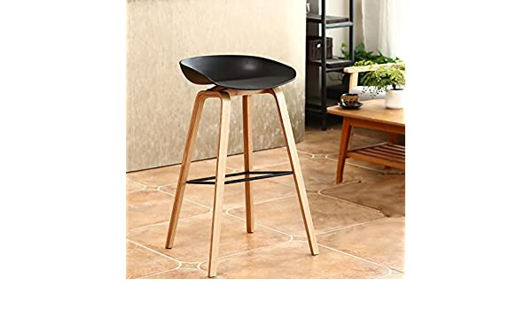 Dyfymx sgabelli di moda sgabelli da bar in legno sgabelli da bar