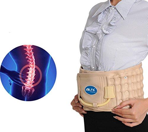 ZSZBACE Spinal Air Traction Physio Dekompression Rückseite Gürtel aufblasbar Zugmechanik für Rückenschmerzen Relief Gürtel Taille Rückenstütze -