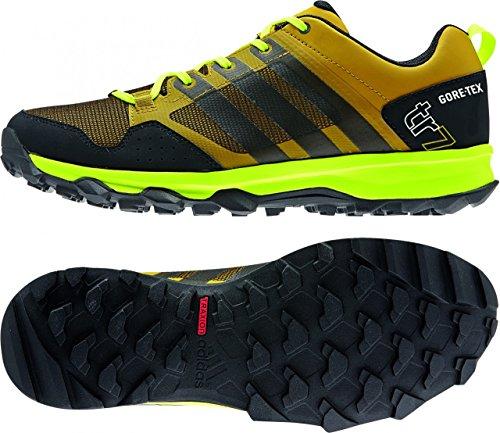 adidas Herren Terrex Swift R GTX Trekking-& Wanderhalbschuhe raw ochre, black, solar yellow