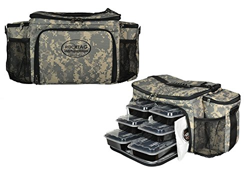Isolator Fitness 6 Mahlzeiten Management System/Militär-Edition U.S. Army Camouflage/Isolierte Mahlzeiten-Kühltasche