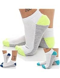 6 Paar Funktion Sneaker Socken Laufsocken mit Mesh-Einsatz Größen 35 bis 46