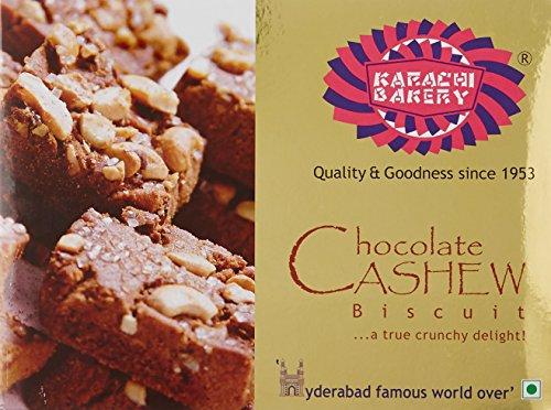 Karachi Bakery Chocolate Cashew Biscuits, 400g 512NMKUrEyL