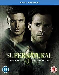 Supernatural - Season 11 [Includes Digital Download] [Blu-ray] [2016] [Region Free]