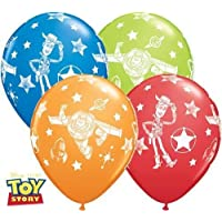 Disney Pixar Toy Story Non Message Qualatex 11 Inch Latex Balloons (Mixed Colours, 5 Pack)