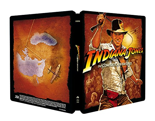 Indiana Jones Collection (Steelbook) [Italia] [Blu-ray]