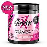 Goddess Nutrition - Maximum Strength Pre-Workout Supplement for Women - 270g, Pink Lemonade