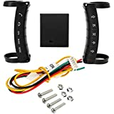 Rishil World Universal Wireless Steering Wheel Controller Button Remote Control For Stereo DVD GPS Navigation