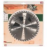 Bosch 2609256822 DIY Kreissägeblatt Basic 205 x 2.2 x 24/18/16,Z40