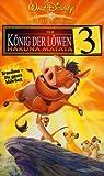 Der König der Löwen 3 - Hakuna Matata [VHS]