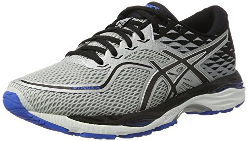 Asics Gel-Cumulus 19, Zapatillas de Running para Hombre, Negro (Carbon/Black/Hot Orange), 42.5 EU