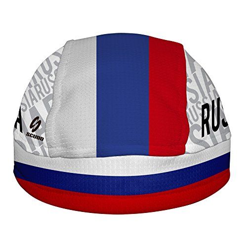 Russia Flag Taschentuch Bandana Skullcap für den Kopf