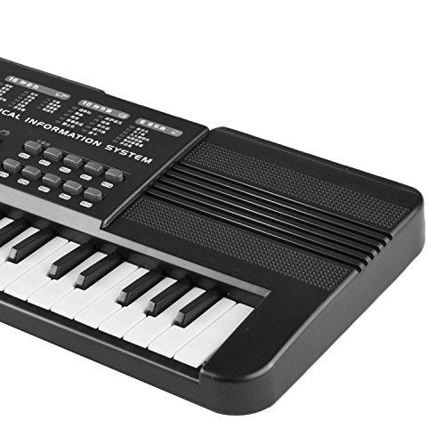 Gosear Multi-Funktion 61 Tasten Kinder Elektronische Orgel Tastatur Klavier Kind Musikalische Lehre Spielzeug mit Mikrofon Und EU Power Netzkabel - 3