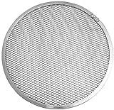 Fm Professional 21691.0 Vassoio per Pizza con Struttura a griglia ø 28cm, in Alluminio (Colore: Argento), quantità: 1 Pezzo