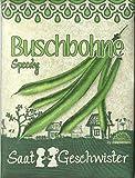 Die Stadtgärtner Bohnen-Saatgut | Samen der Buschbohne'Speedy' für den Garten, Balkon oder Terrasse