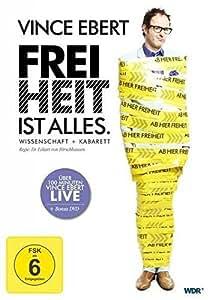 Vince Ebert - Freiheit ist alles [2 DVDs]