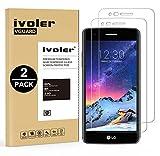 iVoler [Pack de 2] Verre Trempé LG K4 2017 / LG K8 2017, Film Protection en Verre trempé écran Protecteur vitre