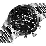 Bering Time Herren-Armbanduhr XL Ceramic Analog Quarz verschiedene Materialien 33341-742