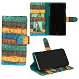 swankmobilecovers Wallet Flip Cover for Motorola Moto G5 Plus(RAINBOW-SKY)