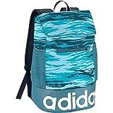 adidas Damen Linear Performance Graphic Rucksack, Iceblu/Vapblu/White, 44 x 27 x 16 cm, 19 Liter