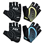 FDX Cycling Gloves Half Finger Gel Fo...