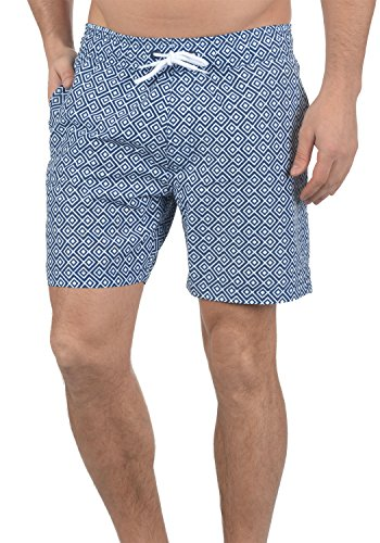 BLEND Meo Herren Swim-Shorts kurze Hose Badehose Ensign Blue (70260)
