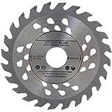 Hoja de sierra de alta calidad para amoladora angular, 115mm, para discos de corte de madera, circular, 115mm x 22mm, con 24 dientes.