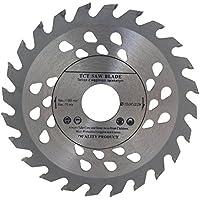 Hoja de sierra de gran calidad para amoladora angular, 115mm, para discos de corte de madera, circular, 115x 22mm, con 24dientes